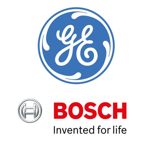 GE and Bosch logos