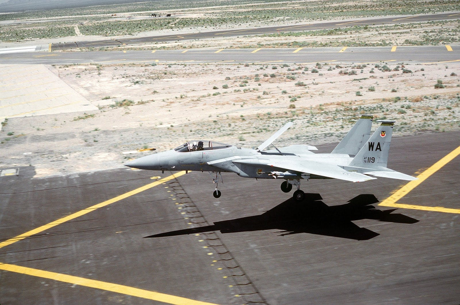 F15 Eagle Landing
