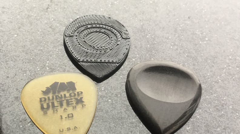 3D printed guitar pick