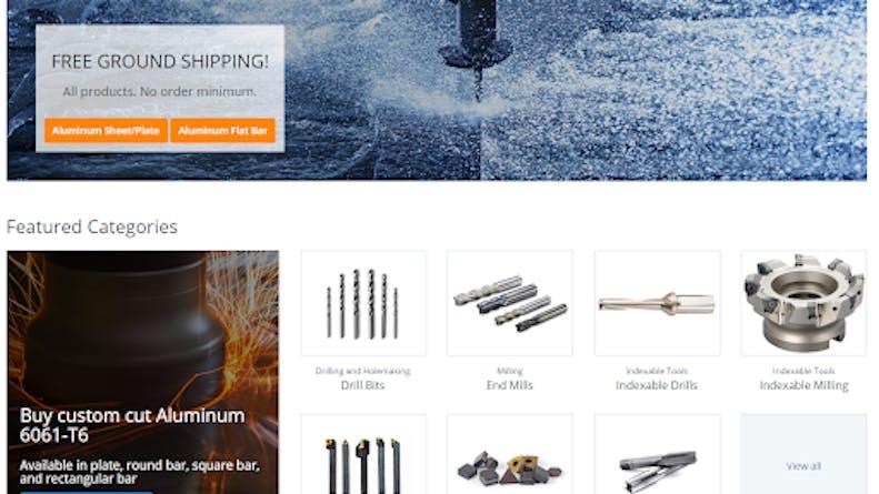 Xometry Supplies landing page