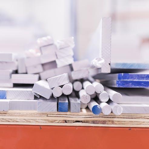 raw aluminum stock