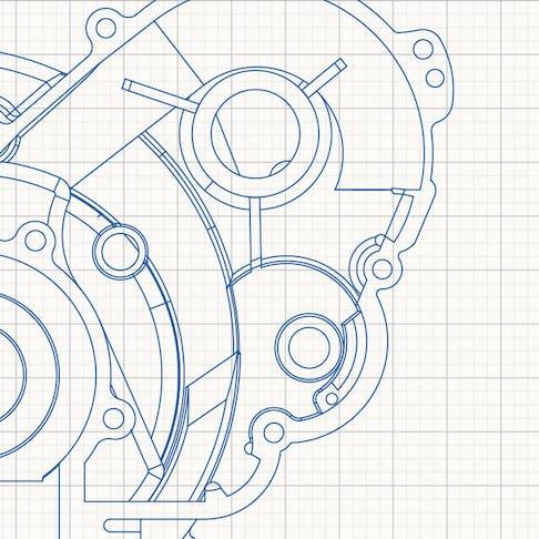 2D file of CNC part