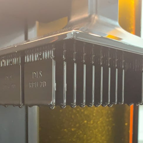 Carbon Digital Light Synthesis (DLS) makes production parts without tooling