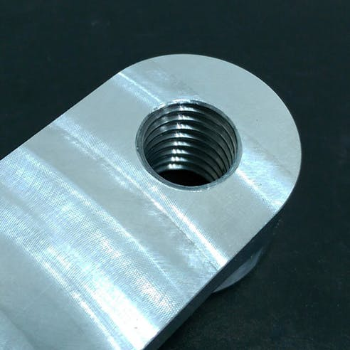 CNC Threaded Hole