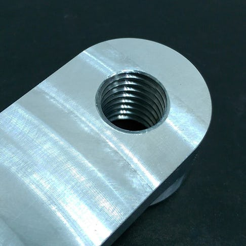 CNC Machining Threaded Hole