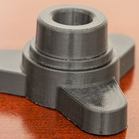 FDM 3D printed plastic part