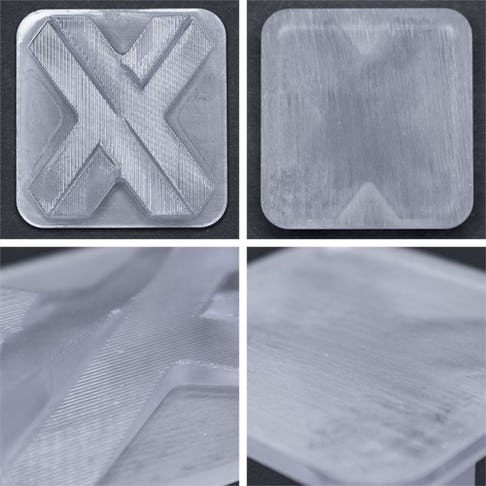 SLA stereolithography natural finish