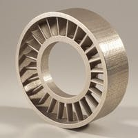 metal binder jet custom part