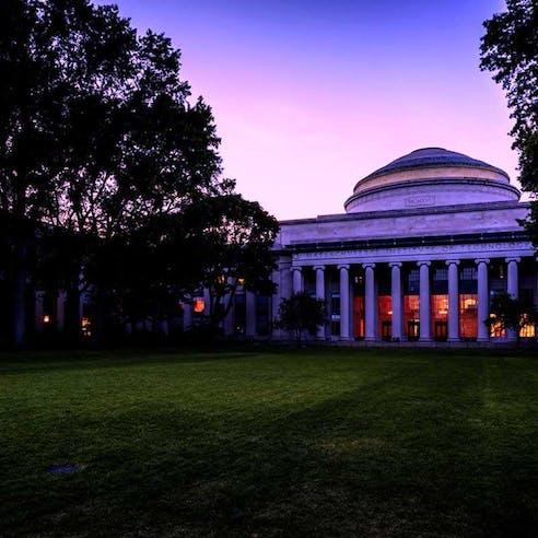 Outside of MIT Engineering School