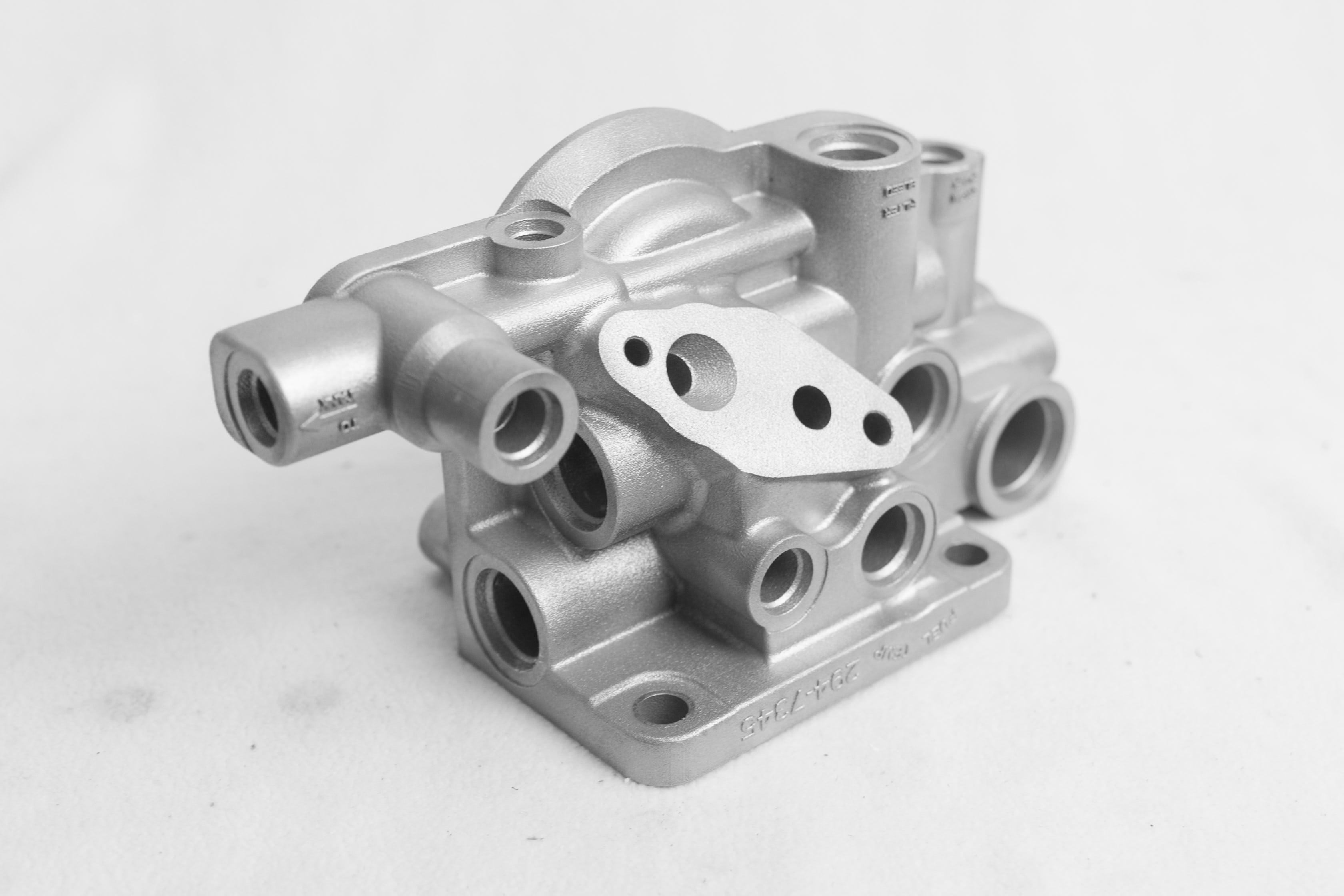 DMLS aluminum sample part