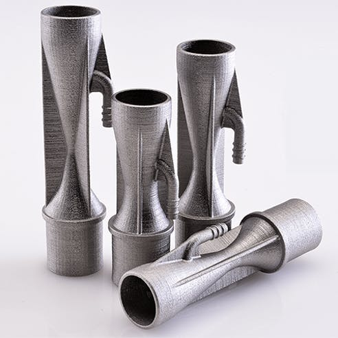 binder jet metal 3d printed parts