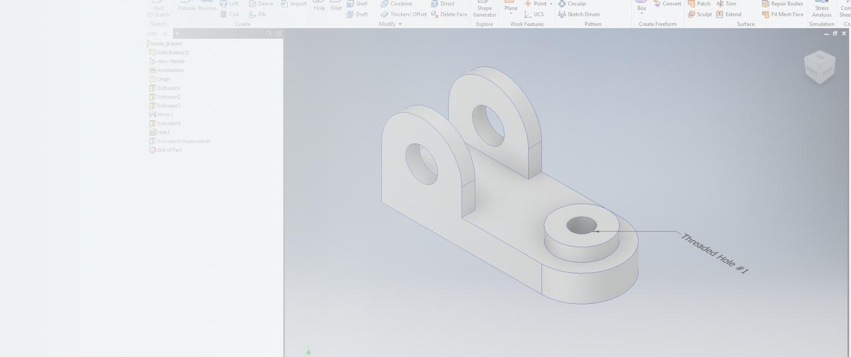 Autodesk Inventor CAD Add-in screenshot