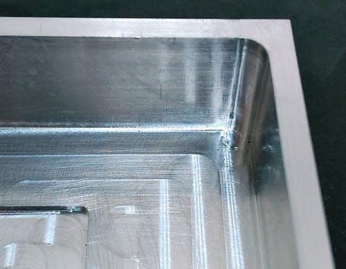 CNC Wall Fillet