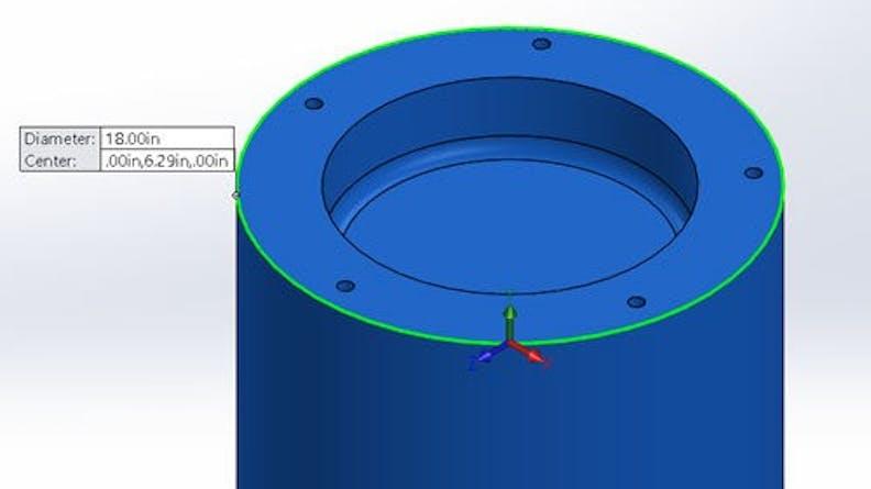 A CNC Lathe part