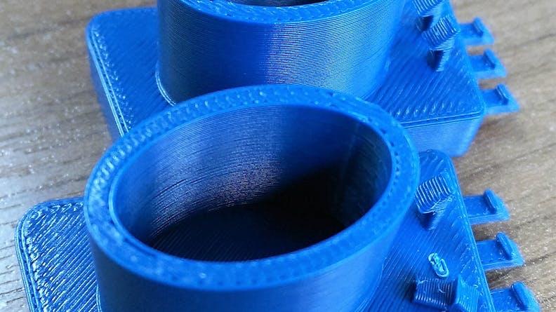 A custom manufactured FDM part