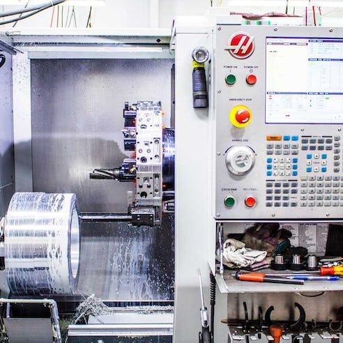 CNC Turning Machine Image