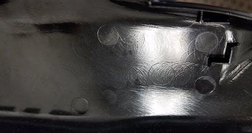 standard injection molding finish
