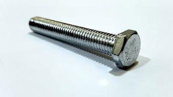 cnc machined zinc screw