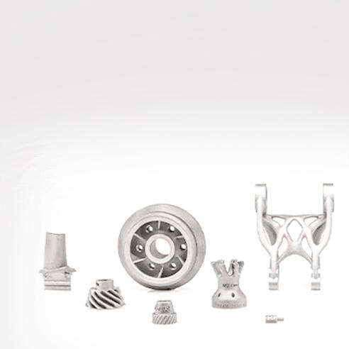 Metal binder jet parts made by ExOne