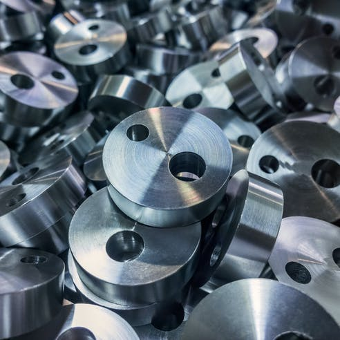 Machined metal parts scale to production through CNC services