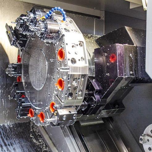 State-of-the-art CNC machine