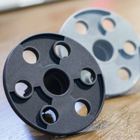 Plastic 3D printing in Multi Jet Fusion nylon