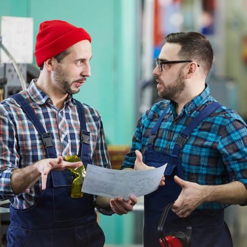 Machine Shop Conversation