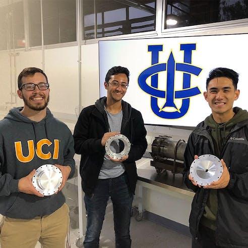 UC Riverside Car Engineering Team Photo