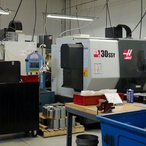 A machine shop