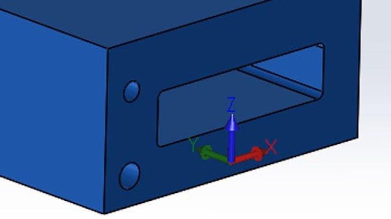 CNC work envelope dimensions
