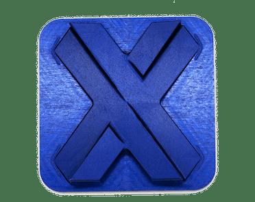 blue aluminum