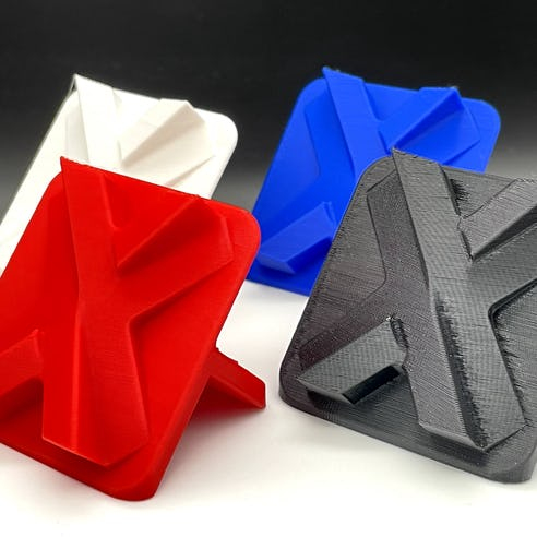 Prototyping PLA material sample