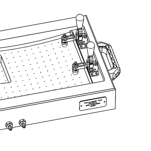 Drawing of an aerospace part