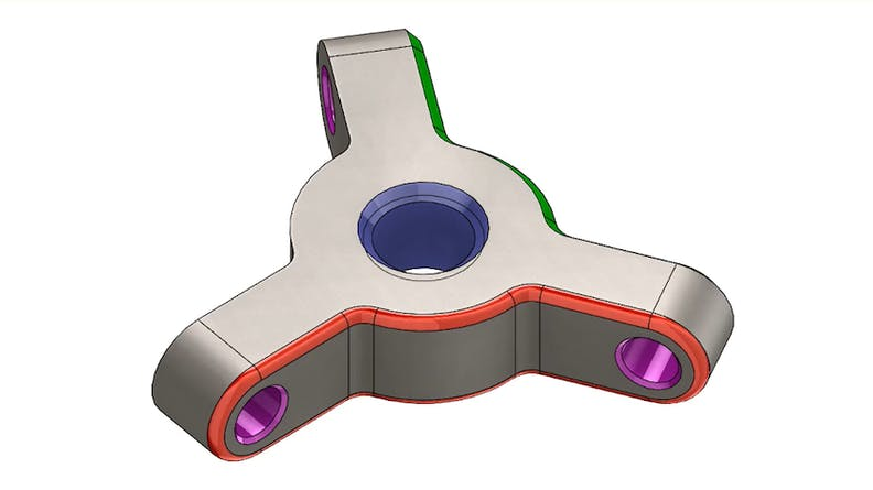 CAD design sample file