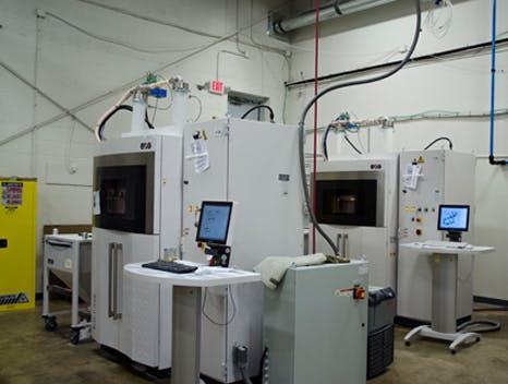 Selective laser sintering, EOS P396 SLS 3D printers