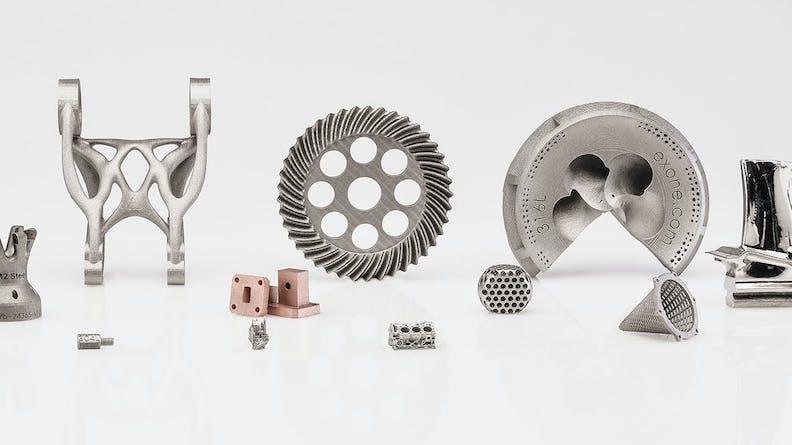 Binder jet parts