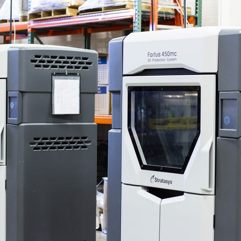 Fused Deposition Modeling FDM Stratasys Fortus 450 and Fortus 900 3D printing service