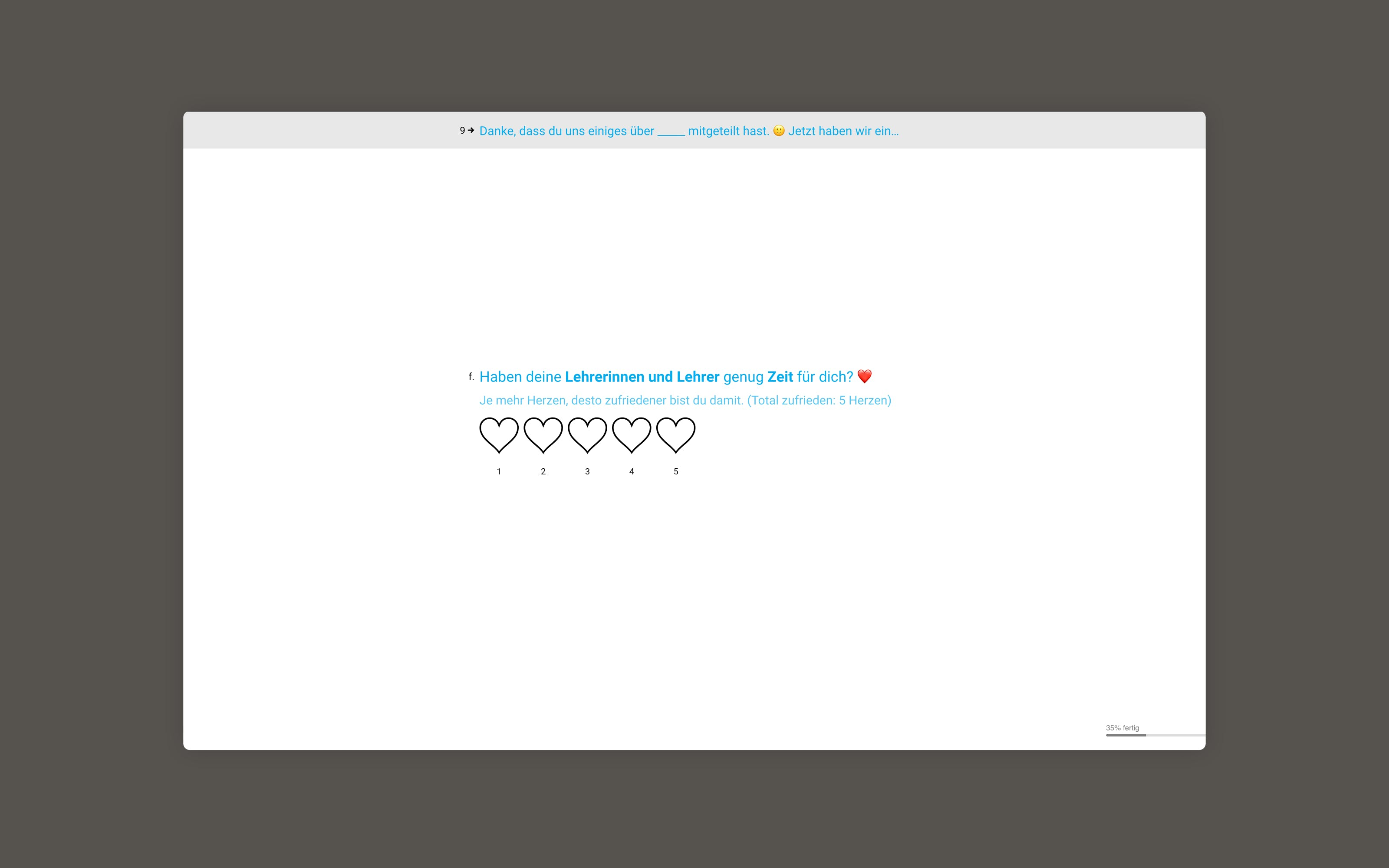 child rights unicef digital playful questionnaire by superdot studio