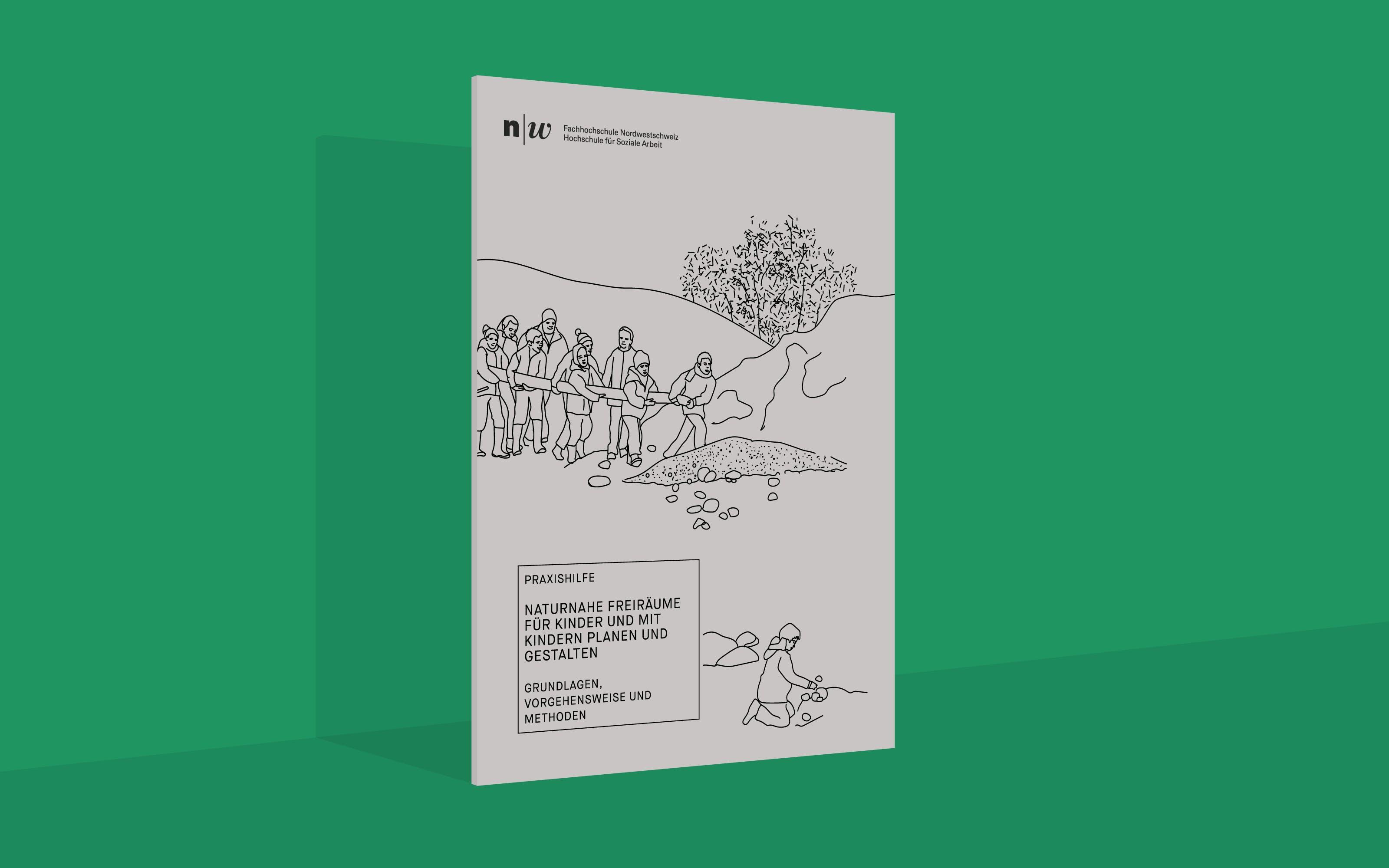 Superdot Studio Illustrated Science Methodologies in a Playful Book for FHNW Hochschule für soziale Arbeit (School of Social Work), 2016