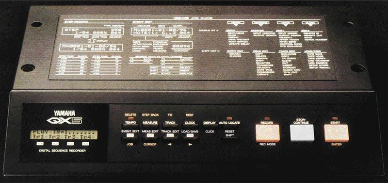 Yamaha QX5 from Sound On Sound Dec. 1986