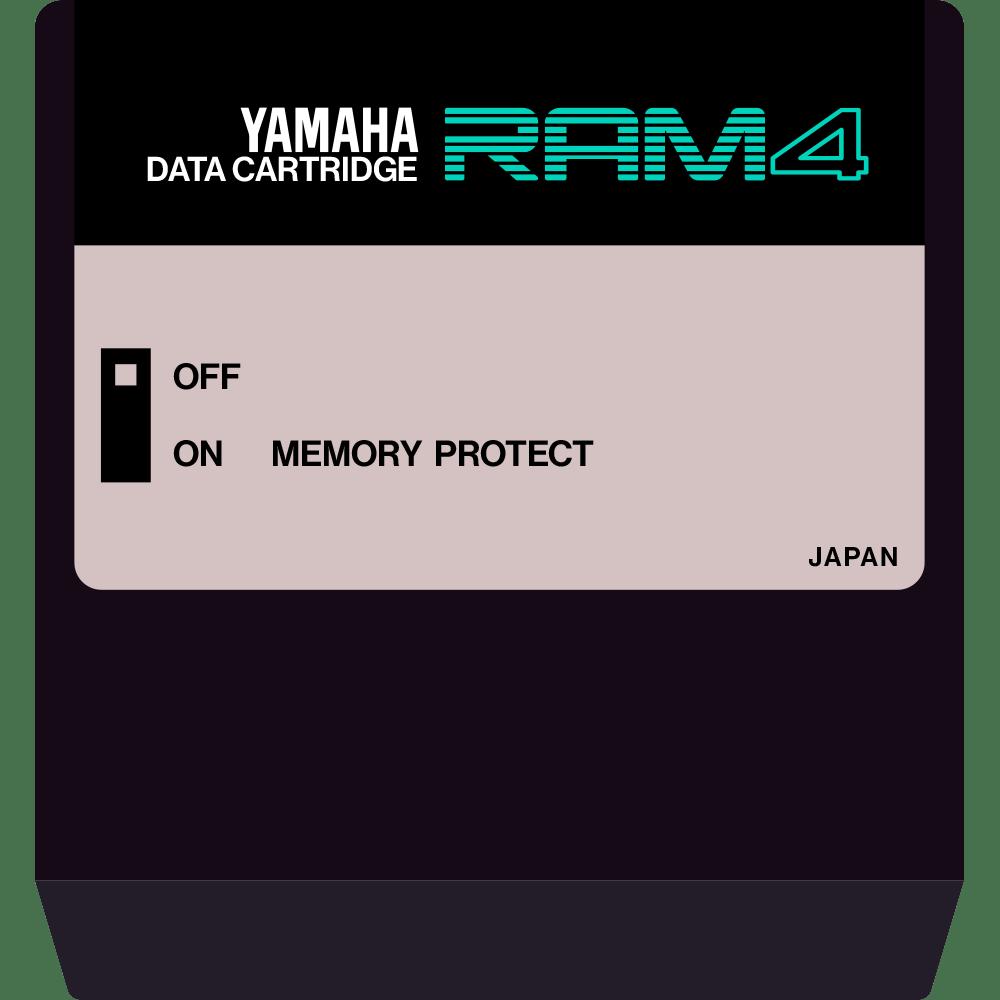 Yamaha RAM4 DX7 II cartridge