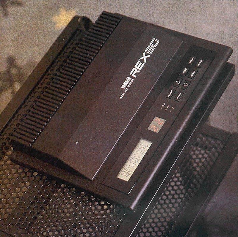 REX50 on Music Technology, Oct 1987