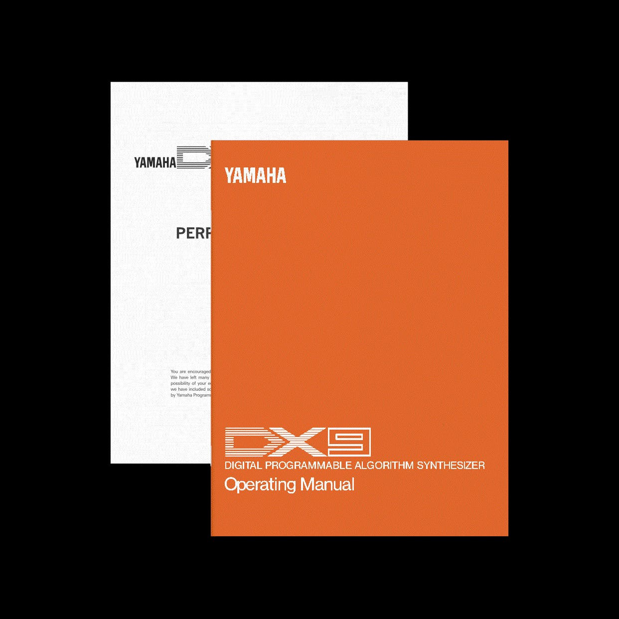 Yamaha DX9 manual