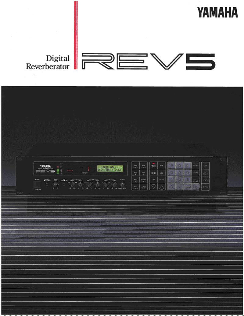 Yamaha REV5 brochure