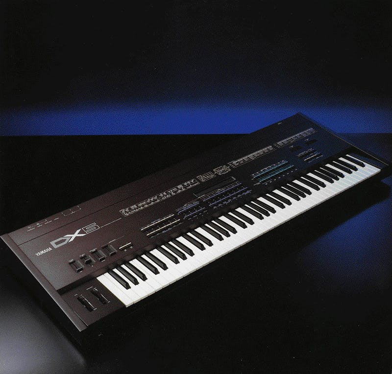 Yamaha DX5 brochure