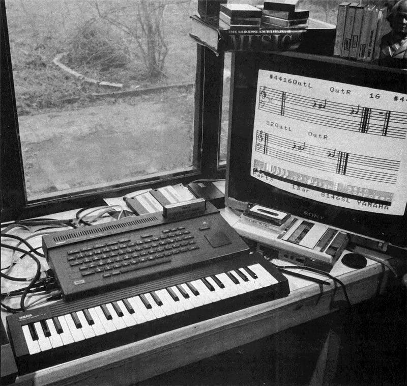 Yamaha CX5 on One Two Testing, Oct 1984