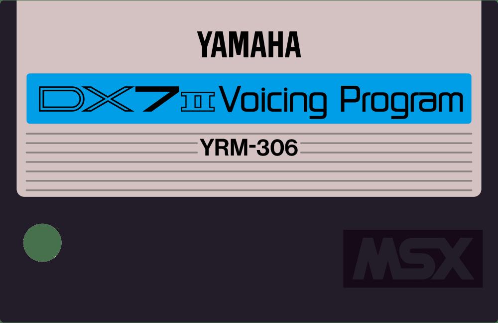 Yamaha YRM306 YRM36 MSX cartridge