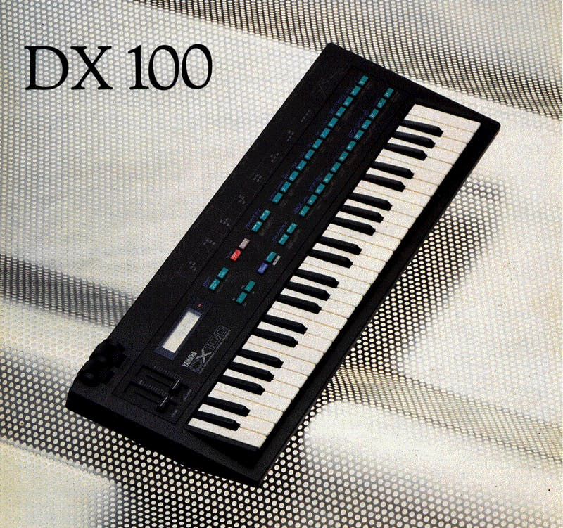 Yamaha DX100 on After Touch