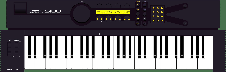 Yamaha EOS YS100 FM digital synthesizer