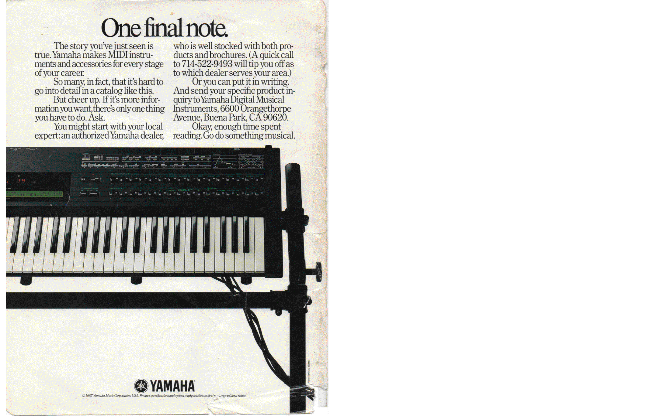 Yamaha digital music systems brochure 11 pdf